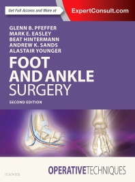 Cover image for Operative Techniques: Foot and Ankle Surgery
