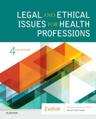Cover image for Legal and Ethical Issues for Health Professions