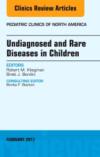 Cover image for Undiagnosed and Rare Diseases in Children, An Issue of Pediatric Clinics of North America