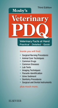 Mosby's Veterinary PDQ - 3rd Edition - ISBN: 9780323510233, 9780323510271