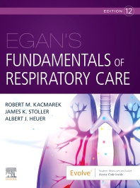 Cover image for Egan's Fundamentals of Respiratory Care