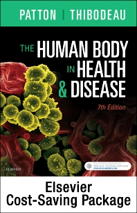Cover image for The Human Body in Health & Disease - Text and Elsevier Adaptive Learning Package