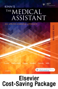 Cover image for Kinn's The Medical Assistant - Text + Study Guide + Virtual Medical Office for Medical Assisting package