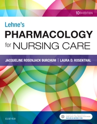 Cover image for Lehne's Pharmacology for Nursing Care
