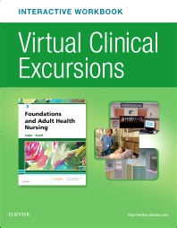 Cover image for Virtual Clinical Excursions Online and Print Workbook for Foundations and Adult Health Nursing