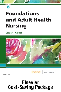 Cover image for Foundations and Adult Health Nursing – Text and Virtual Clinical Excursions Online Package