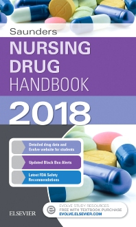 Cover image for Saunders Nursing Drug Handbook 2018