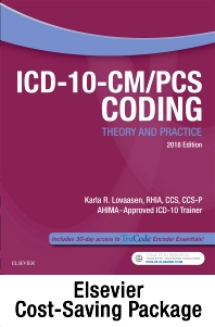Cover image for ICD-10-CM/PCS Coding Theory and Practice, 2018 Edition – Text and Workbook Package