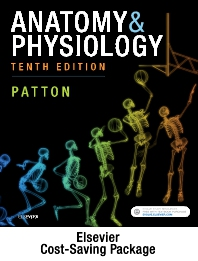 Cover image for Anatomy and Physiology - Text and Elsevier Adaptive Quizzing Package