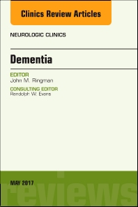 Cover image for Dementia, An Issue of Neurologic Clinics