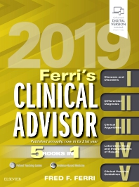 Cover image for Ferri's Clinical Advisor 2019