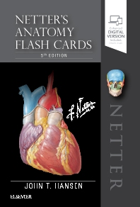 Netter's Anatomy Flash Cards - 5th Edition - ISBN: 9780323530507, 9780323550802