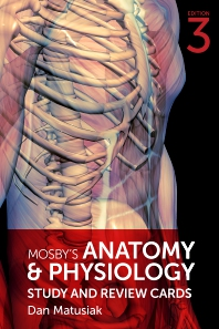 Mosby's Anatomy & Physiology Study and Review Cards - 3rd Edition - ISBN: 9780323530538