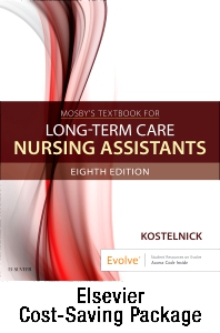 Cover image for Mosby's Textbook for Long-Term Care Nursing Assistants - Text and Workbook Package
