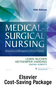 Cover image for Medical-Surgical Nursing - Two-Volume Text and Study Guide Package