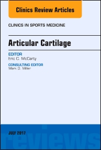 Cover image for Articular Cartilage, An Issue of Clinics in Sports Medicine