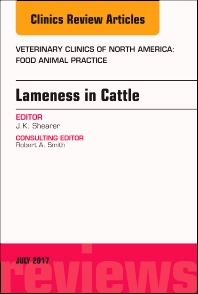Cover image for Lameness in Cattle, An Issue of Veterinary Clinics of North America: Food Animal Practice