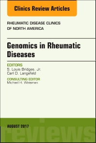 Cover image for Genomics in Rheumatic Diseases, An Issue of Rheumatic Disease Clinics of North America