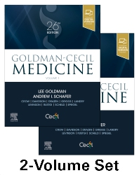 Goldman-Cecil Medicine,  2-Volume Set - 26th Edition - ISBN: 9780323532662