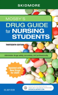 Cover image for Mosby's Drug Guide for Nursing Students with 2020 Update