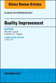 Cover image for Quality Improvement, An Issue of Clinics in Perinatology