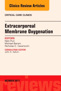 Cover image for Extracorporeal Membrane Oxygenation (ECMO), An Issue of Critical Care Clinics