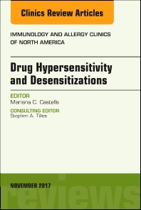 Cover image for Drug Hypersensitivity and Desensitizations, An Issue of Immunology and Allergy Clinics of North America