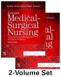 Cover image for Lewis's Medical-Surgical Nursing - 2-Volume Set