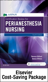 Cover image for Certification Review for PeriAnesthesia Nursing - Elsevier eBook on VitalSource and Evolve (Retail Access Cards)