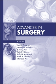 Cover image for Advances in Surgery, 2017