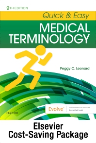 Cover image for Medical Terminology Online with Elsevier Adaptive Learning for Quick & Easy Medical Terminology (Access Code and Textbook Package)