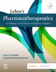 Cover image for Lehne's Pharmacotherapeutics for Advanced Practice Nurses and Physician Assistants 2e
