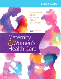 Cover image for Study Guide for Maternity & Women's Health Care