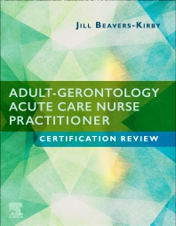 Cover image for Adult-Gerontology Acute Care Nurse Practitioner Certification Review