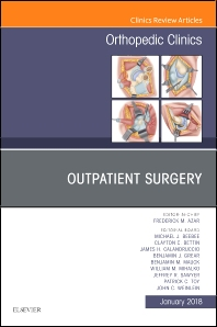 Cover image for Outpatient Surgery, An Issue of Orthopedic Clinics