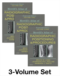 Merrill's Atlas of Radiographic Positioning and Procedures - 3-Volume Set - 14th Edition - ISBN: 9780323566674, 9780323640411