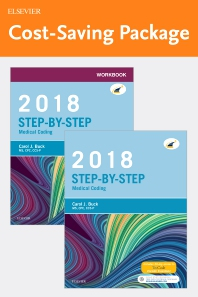 Cover image for Step-by-Step Medical Coding, 2018 Edition – Text and Workbook Package