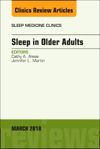 Cover image for Sleep in Older Adults, An Issue of Sleep Medicine Clinics