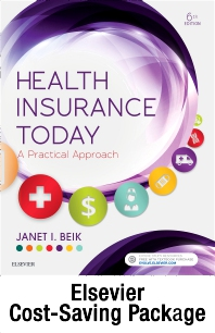 Cover image for Health Insurance Today - Text, Workbook and Virtual Medical Office Package