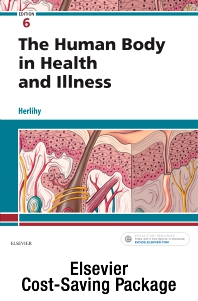 Cover image for The Human Body in Health & Illness - Text and Study Guide package