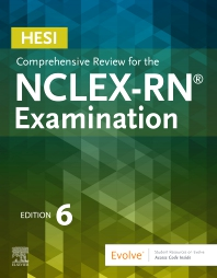 Cover image for HESI Comprehensive Review for the NCLEX-RN Examination