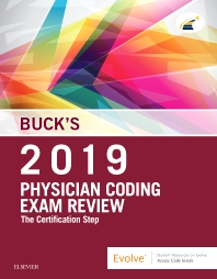 cover of Buck's Physician Coding Exam Review 2019 - 1st Edition