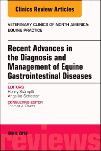 Cover image for Equine Gastroenterology, An Issue of Veterinary Clinics of North America: Equine Practice