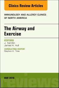 Cover image for The Airway and Exercise, An Issue of Immunology and Allergy Clinics of North America
