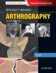 Cover image for Specialty Imaging: Arthrography