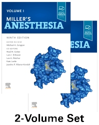 Miller's Anesthesia, 2-Volume Set - 9th Edition - ISBN: 9780323596046