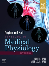 Cover image for Guyton and Hall Textbook of Medical Physiology