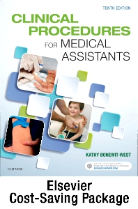 Cover image for Clinical Procedures for Medical Assistants - Text and Study Guide Package