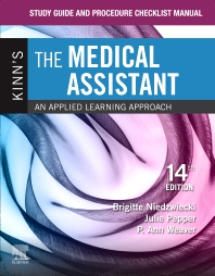 Cover image for Study Guide and Procedure Checklist Manual for Kinn's The Medical Assistant