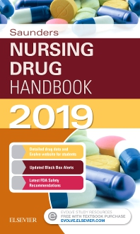 Cover image for Saunders Nursing Drug Handbook 2019